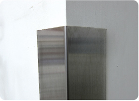 Corner Guards In Stainless Steel And Aluminum Monarch Metal