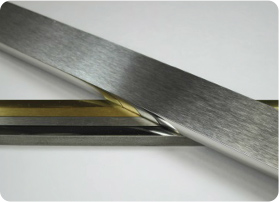 polished stainless steel aluminum brass brass and metal furniture