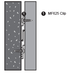 Mf625 Z Clips Monarch Metal