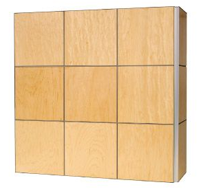 Monarch wall panel system demo box