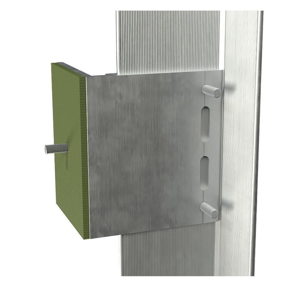 Monarch Metal Thermal Break Sub- structure – Vertical Rail