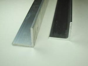 Aluminum Angle – 6063 Architectural (Sharp Corner) or 6061