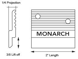 Mf375 Z Clips Monarch Metal
