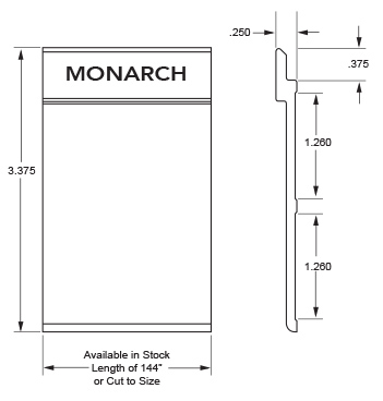 Monarch Metal Z Clip MFTAPE