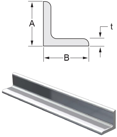 Monarch Metal Architectural Metal - Structural Aluminum Angle