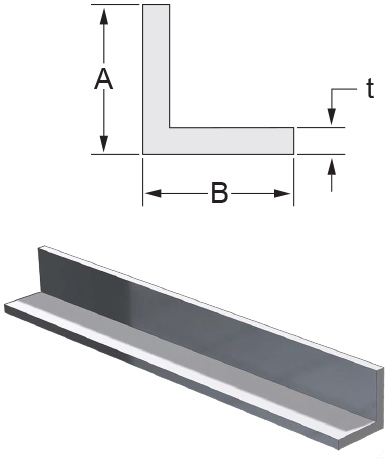 Monarch Metal Architectural Metal - Aluminum Angle