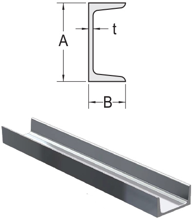 Monarch Metal Architectural Metal - American Standard Aluminum Channel