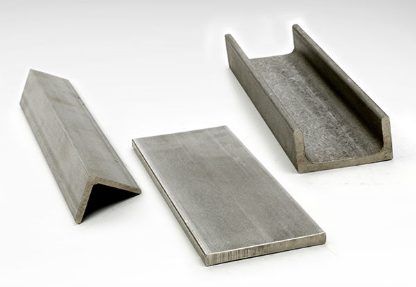 Angle & Architectural Metals in Aluminum, Stainless Steel, Steel and