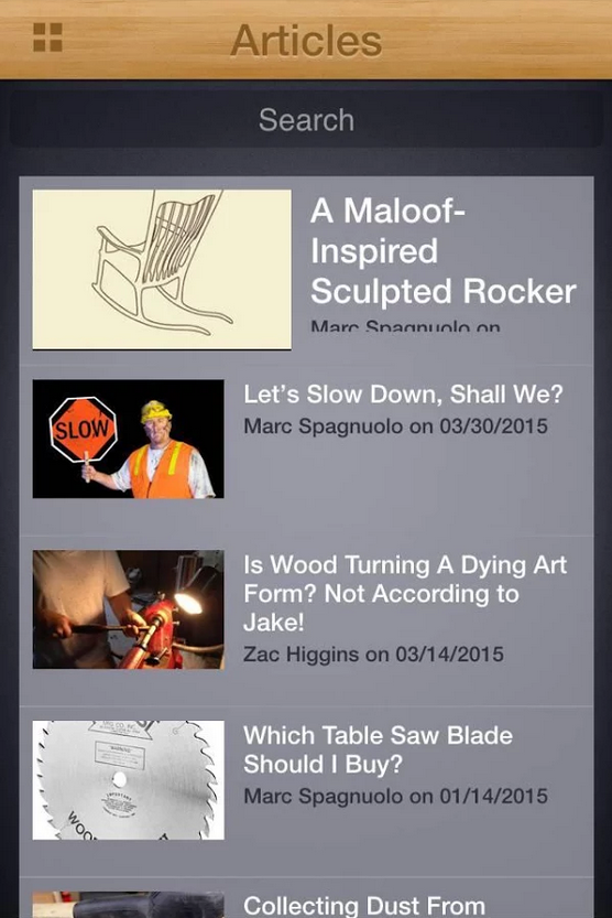 5 Must Have Mobile Apps For Woodworkers