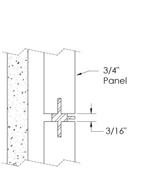 Monarch Metal Wall Panel System - EPS-V075-C