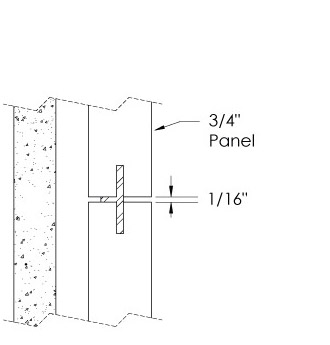 Monarch Metal Wall Panel System - EPS-V075-R or EPS-V039-R
