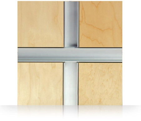 Monarch Metal Wall Panel System - Wide Channel