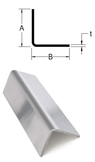 Monarch Metal Architectural Metal - Fabricated Stainless Steel Angle