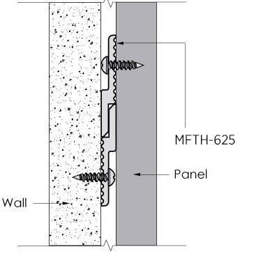 Aluminum Z Clips (Panel Clips) | Monarch Metal