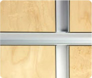 Monarch Metal Wide Channel Wall Panel System
