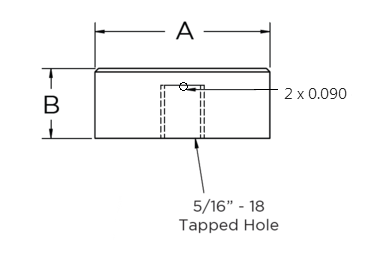 Stainless Steel Standoffs Security Caps No Stem Diagram